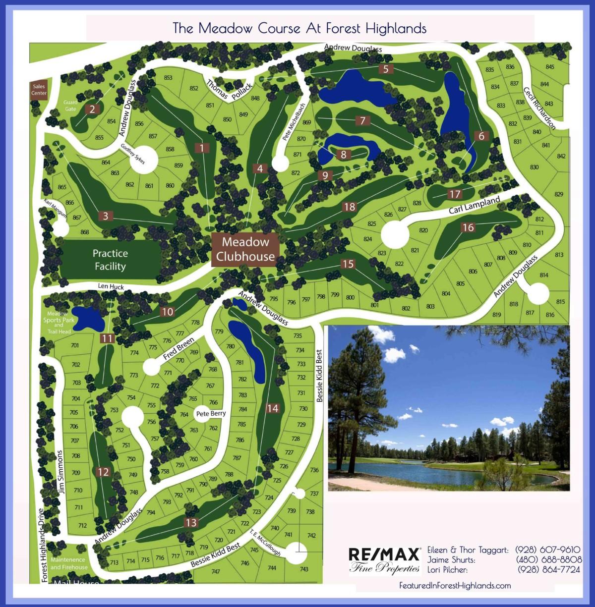 Highlands Ranch Google Maps: Forest Highlands Homes And Lan